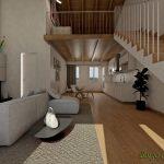 Case in Vendita Mestre soggiorno del loft di trivignano